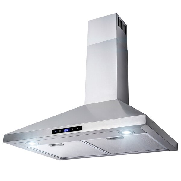 30 400 CFM Convertible Wall Mount Range Hood by AKDY30 400 CFM Convertible Wall Mount Range Hood by AKDY