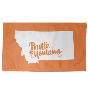 East Urban Home Butte Montana Grey Area Rug Wayfair