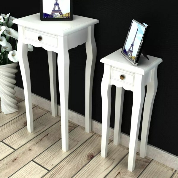 Free S&H Banner Nesting Tables With Storage