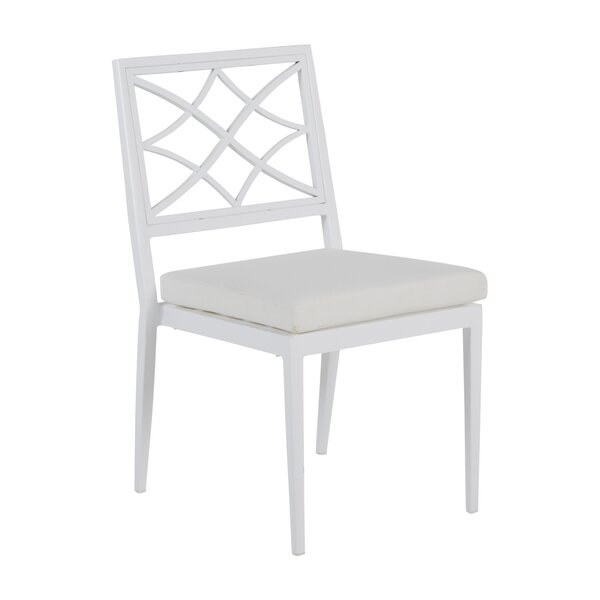 Elegante Patio Dining Chair with Cushion (Set of 2) by Summer Classics