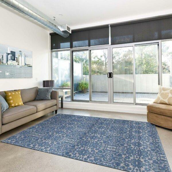Paden Dark Blue Indoor/Outdoor Area Rug by Lark Manor