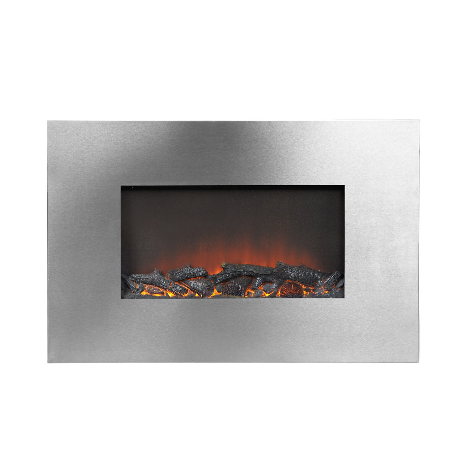 Homestar flamelux wall mount electric fireplace reviews for 24 wall mount electric fireplace