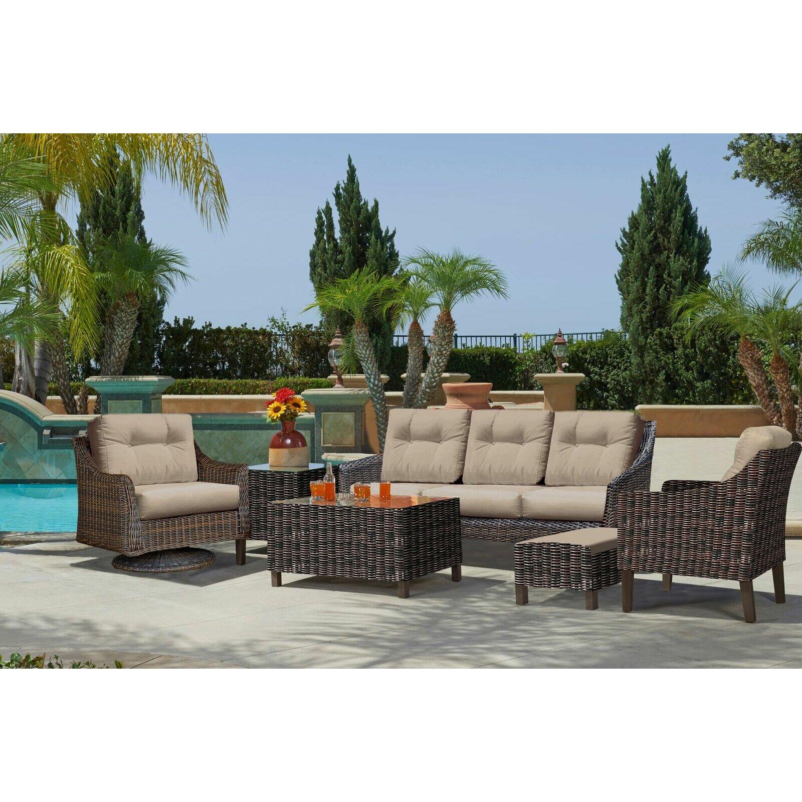 North Cape International Trenton  Piece Sofa Set  Reviews Wayfair - North cape outdoor furniture