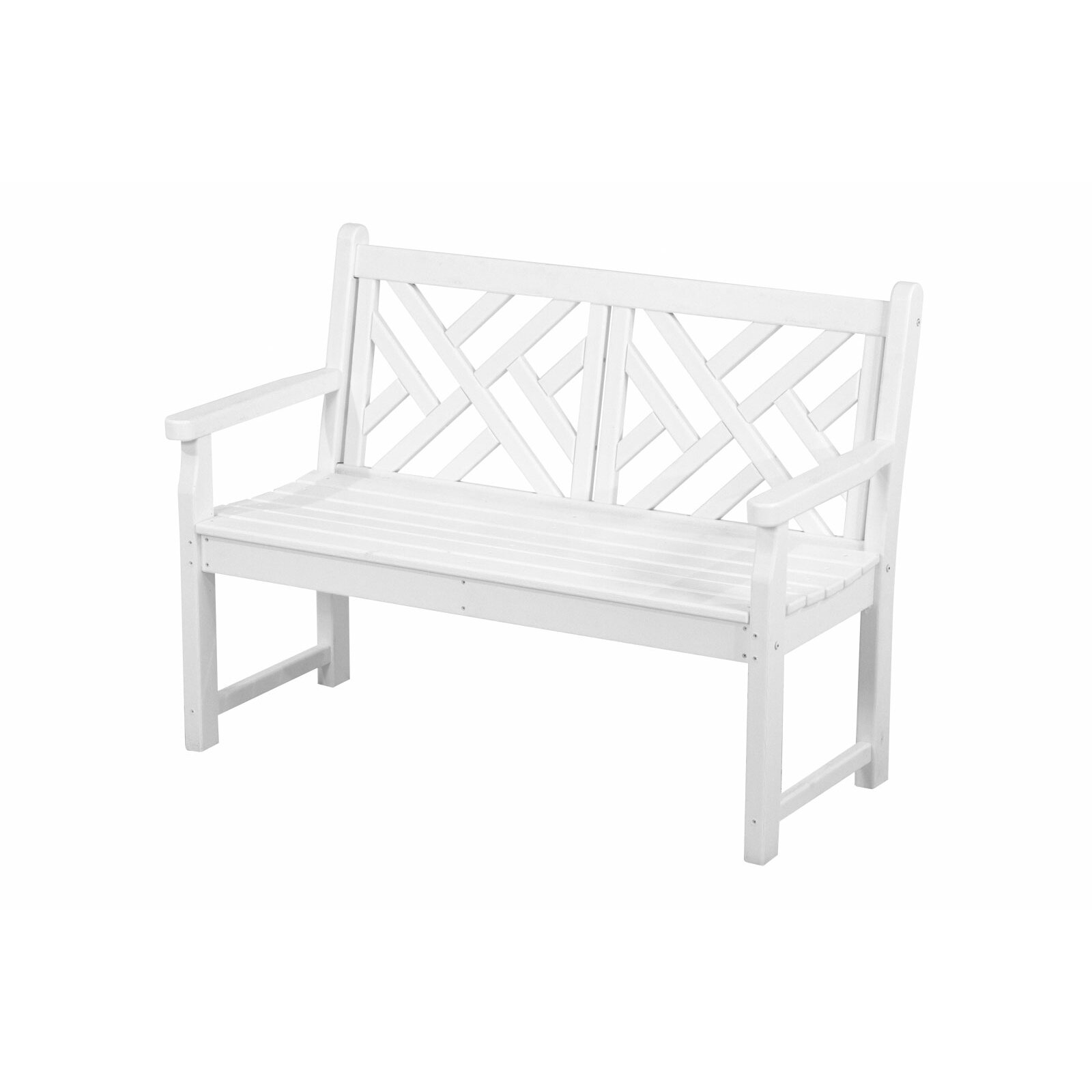 Chippendale 48 Plastic Bench Reviews Allmodern
