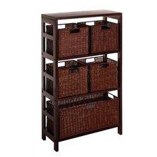 Scenic 5 Drawers Storage Shelf by Red Barrel Studio