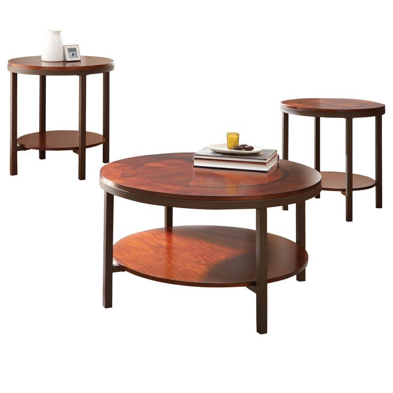 steve silver furniture trisha 3 piece coffee table set & reviews