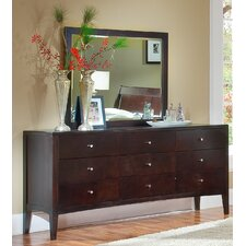 Harbor 9 Drawer Dresser with Mirror by Home Image