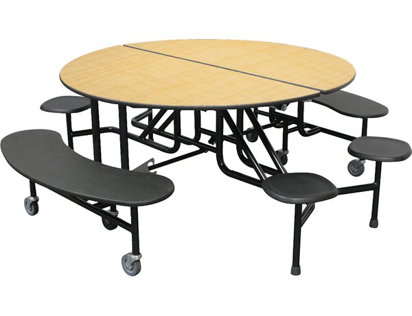 60'' Round Cafeteria Table by Palmer Hamilton