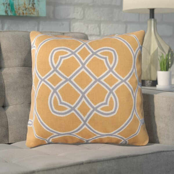 Kupfer Throw Pillow by Winston Porter