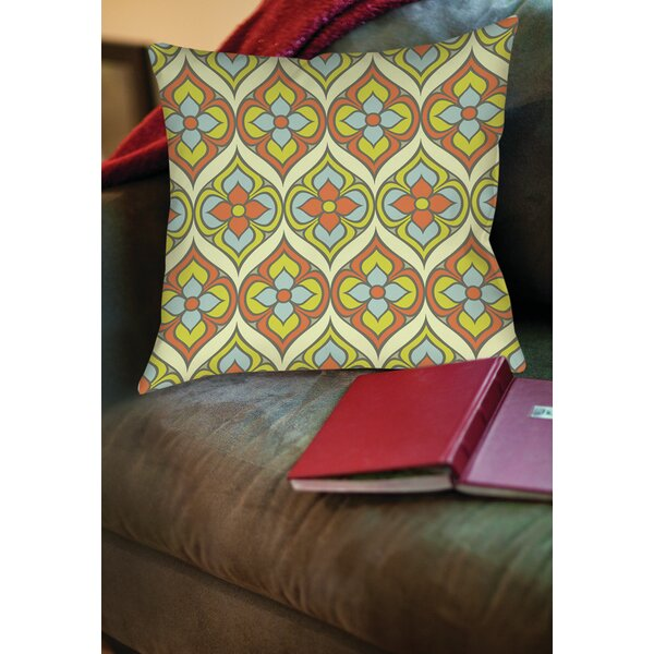 Napoli November Printed Throw Pillow by Manual Woodworkers & Weavers
