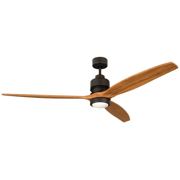 52 Spillman 3-Blade Ceiling Fan Kit with Remote by Brayden Studio