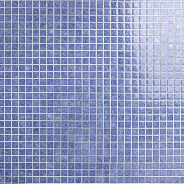Waterfall 1 x 1 Porcelain Mosaic Tile in Aral by EliteTile