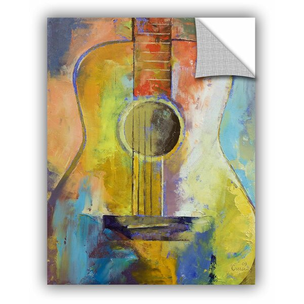 Michael Creese Guitar Melodies Wall Decal by ArtWall