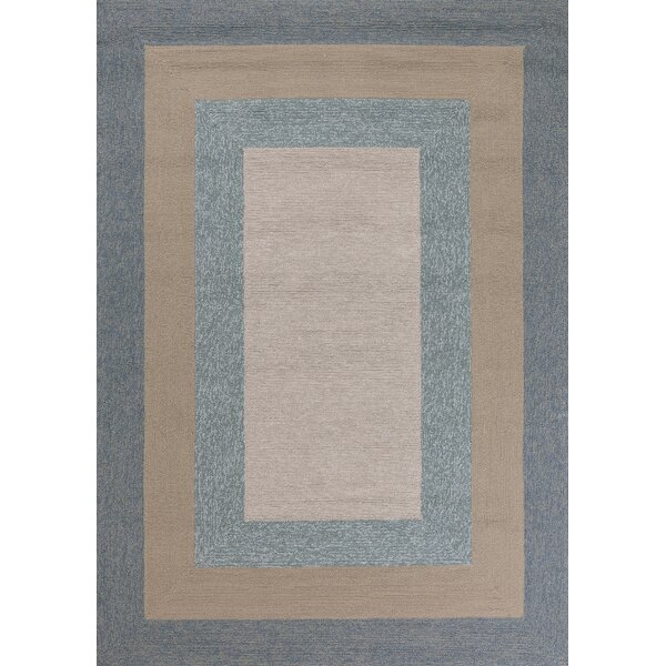 Hamptons Highview Hand-Hooked Spa Indoor/Outdoor Area Rug by Libby Langdon