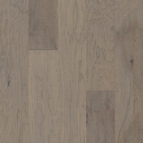 American 5 Engineered Hickory Hardwood Flooring in Gray Wolf by Armstrong Flooring