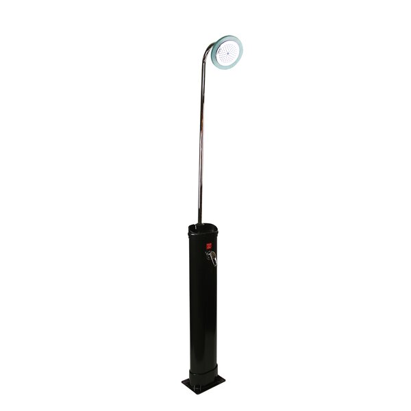 Solar Powered Freestanding Outdoor Shower by Pool Central
