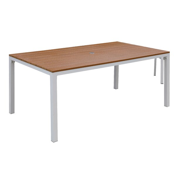 Lacey Plastic/Resin Dining Table by Rosecliff Heights