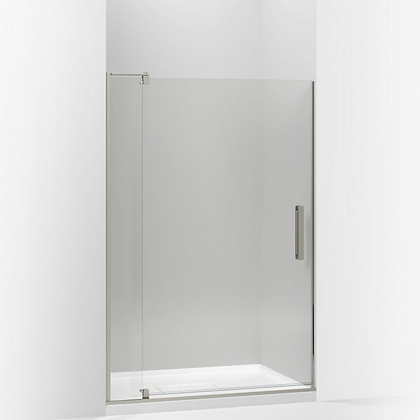 Revel 44'' x 70'' Pivot Shower Door with CleanCoat® Technology by Kohler