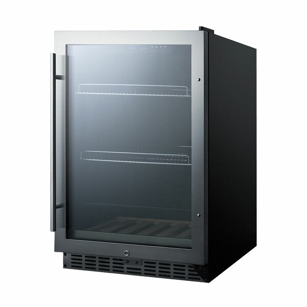 5.43 cu. ft. Counter Depth All-Refrigerator by Summit Appliance