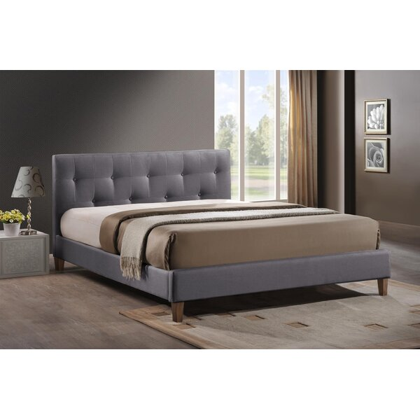 Cairon Upholstered Platform Bed by Latitude Run
