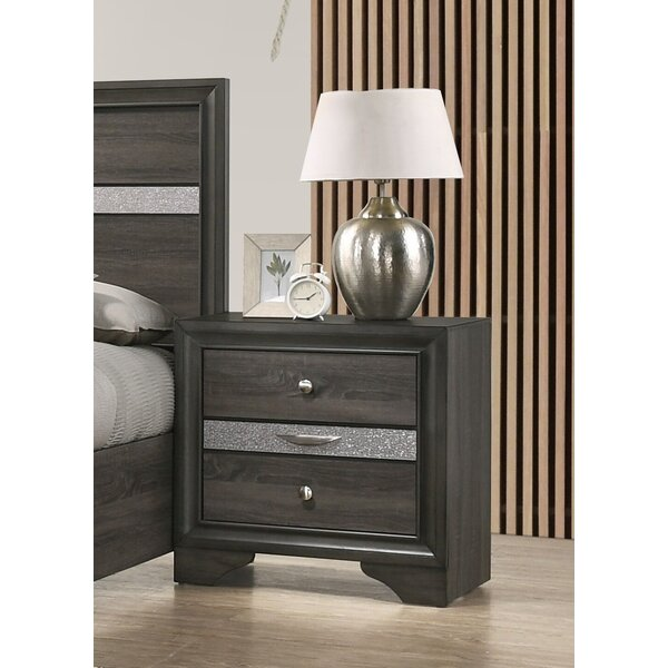 Mooneyhan 3 Drawer Nightstand by Union Rustic
