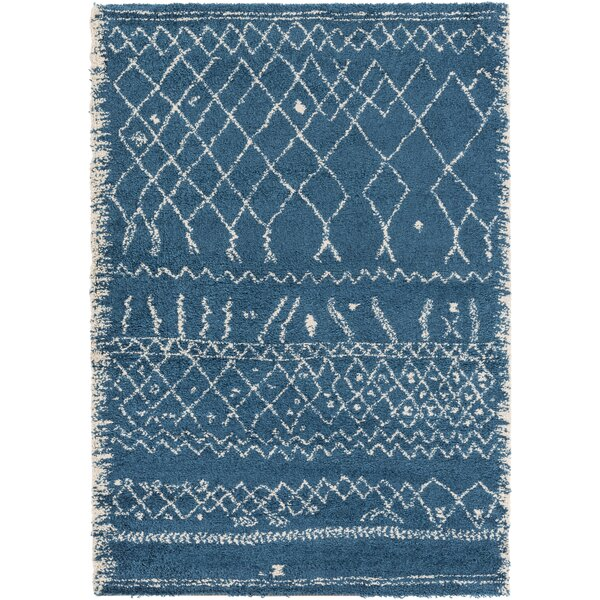 Bolinger Blue/Neutral Area Rug by Union Rustic