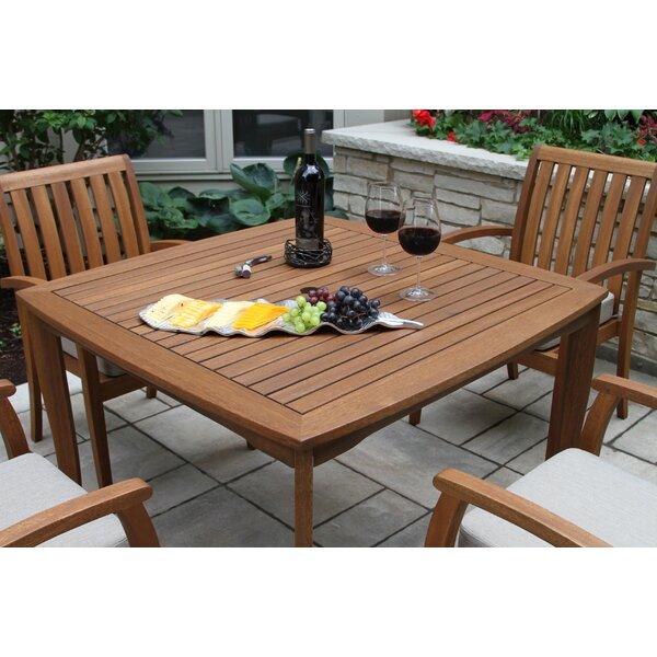 Kowalczyk Wooden Dining Table by Bayou Breeze