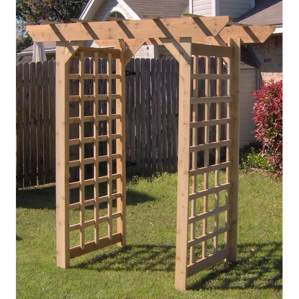 American Cedar Wood Arbor by Threeman Products