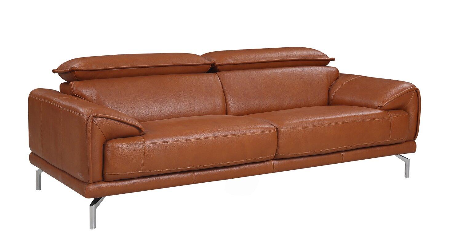 Top Grain Leather Sofa Natuzzi Campbell
