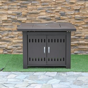 Steel Propane Fire Pit Table By Creative Living