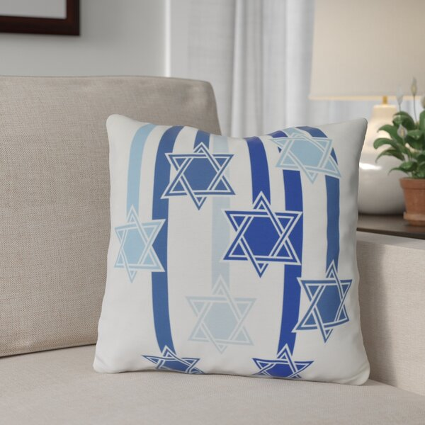 Shooting Stars Throw Pillow by The Holiday Aisle