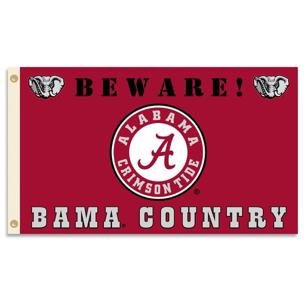 NCAA Country Polyester 3 x 5 ft. Flag by Team Pro-Mark