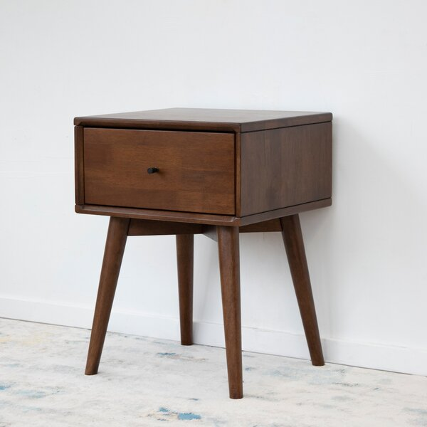 Erler Mid Century Nightstand by Union Rustic