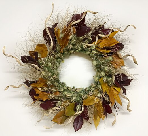 Wild West 22 Wreath by Dried Flowers and Wreaths LLC