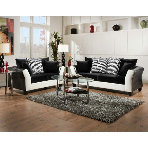 #1 Fofana 2 Piece Living Room Set By Ebern Designs Today Sale Only
