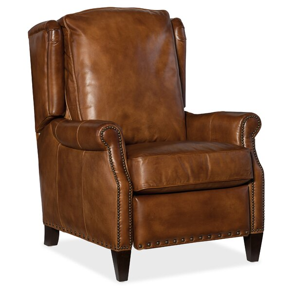 Silas Leather Recliner by Hooker Furniture