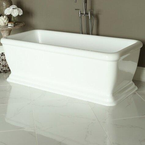 Spirit 69 x 31 Soaking Bathtub by Signature Bath