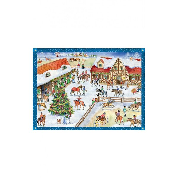 Sellmer Horse Barn Advent Calendar by The Holiday Aisle