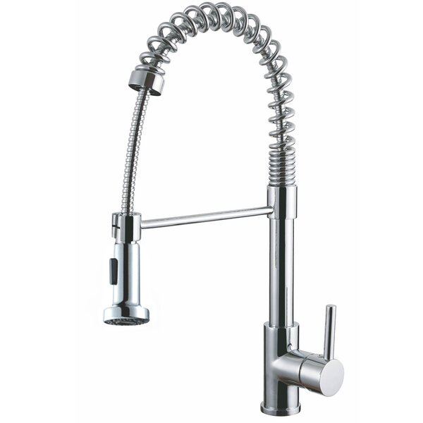 Luxurious Pull Down Single Handle Kitchen Faucet by Y Decor