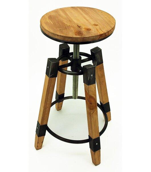 Adjustable Height Swivel Bar Stool by Vandue Corporation