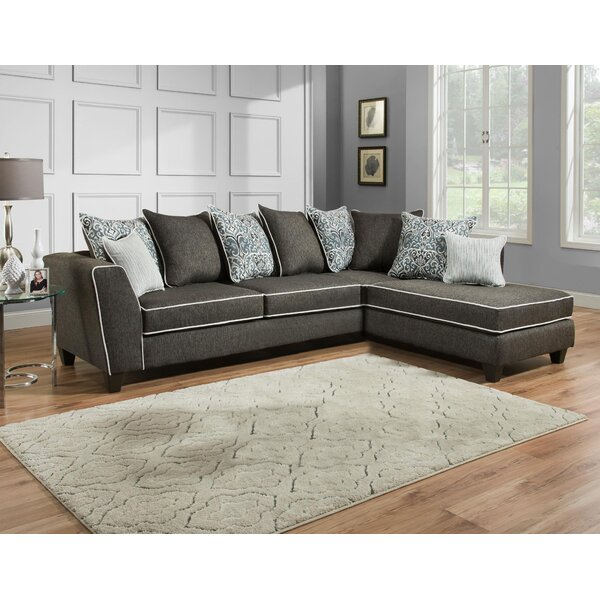 Hagberg Right Hand Facing Sectional By Ivy Bronx