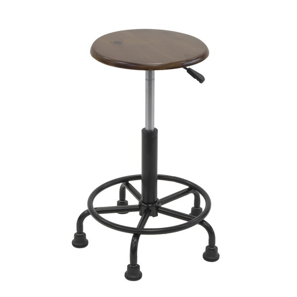 Gneiting Retro Height Adjustable Lab Stool by 17 Stories