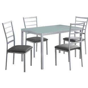 5 Piece Dining Set By Monarch Specialties Inc. Read Reviews