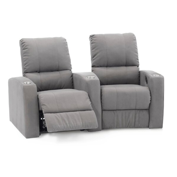 Sloane Manual Reclining Curved Home Theater Loveseat (Row Of 2) By Palliser Furniture