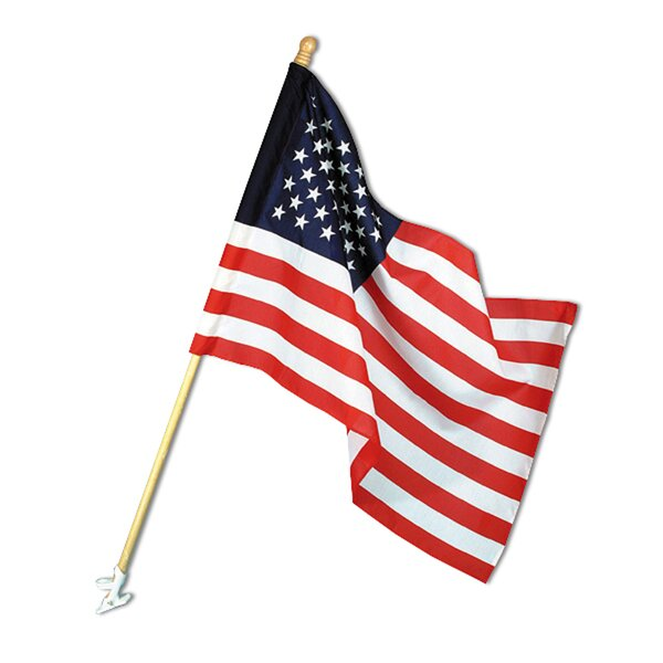 United States Traditional Flag Set By Annin Flagmakers.
