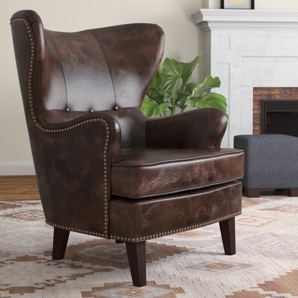Barnard Wingback Chair by Red Barrel Studio