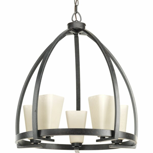 Suzanna 5-Light Candle Style Wagon Wheel Chandelier By Gracie Oaks