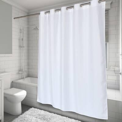 EZ ONR Waffle Weave Shower Curtain