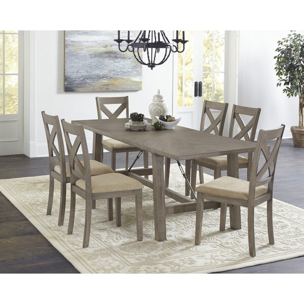 Glenn 7 Piece Dining Set by Ophelia & Co.