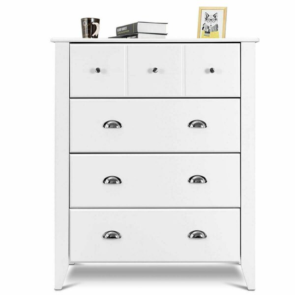 Petrarch Modern 4 Drawer Accent Chest